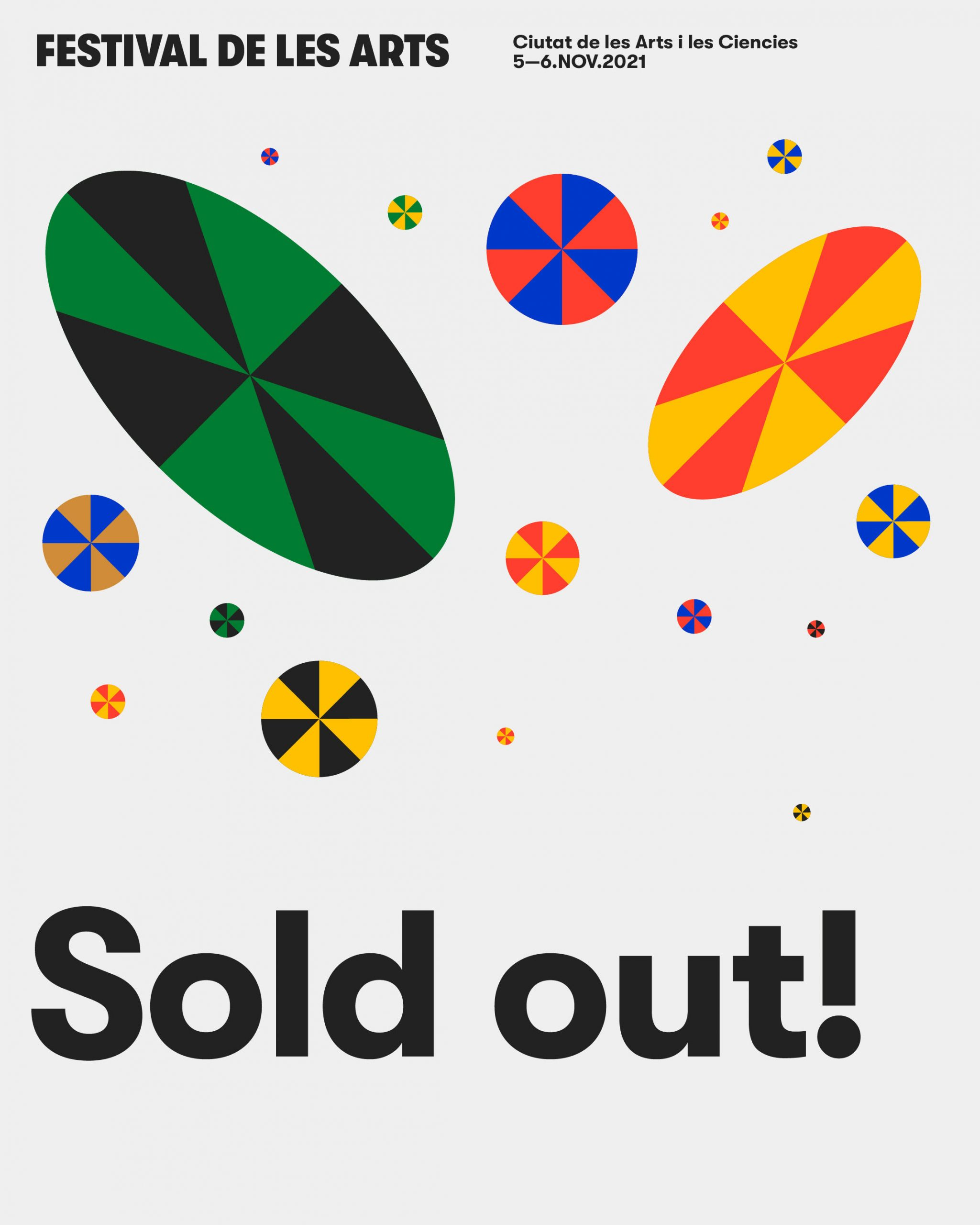 Sold out Festival de les Arts