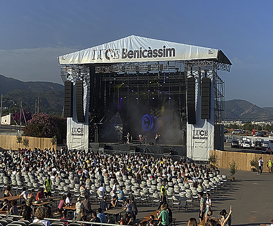LUCE Benicàssim abre la puerta a la música con los tres primeros conciertos de su ciclo