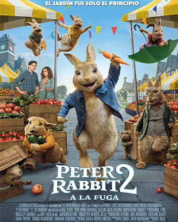 CINE INFANTIL BENICASSIM:  PETER RABBIT 2