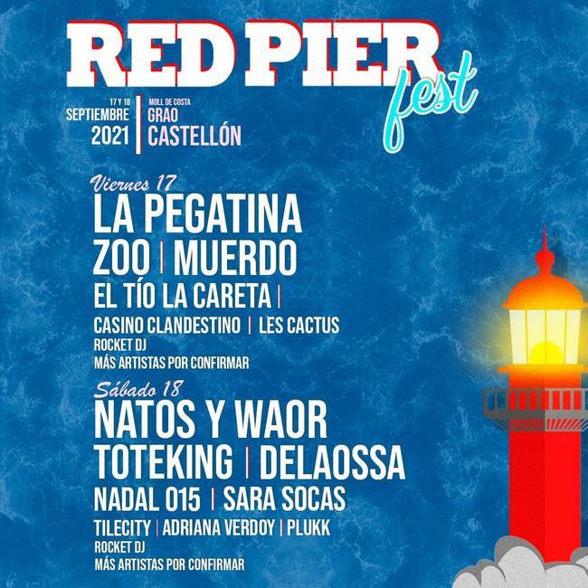 El Red Pier Fest vuelve al Grao de Castellón