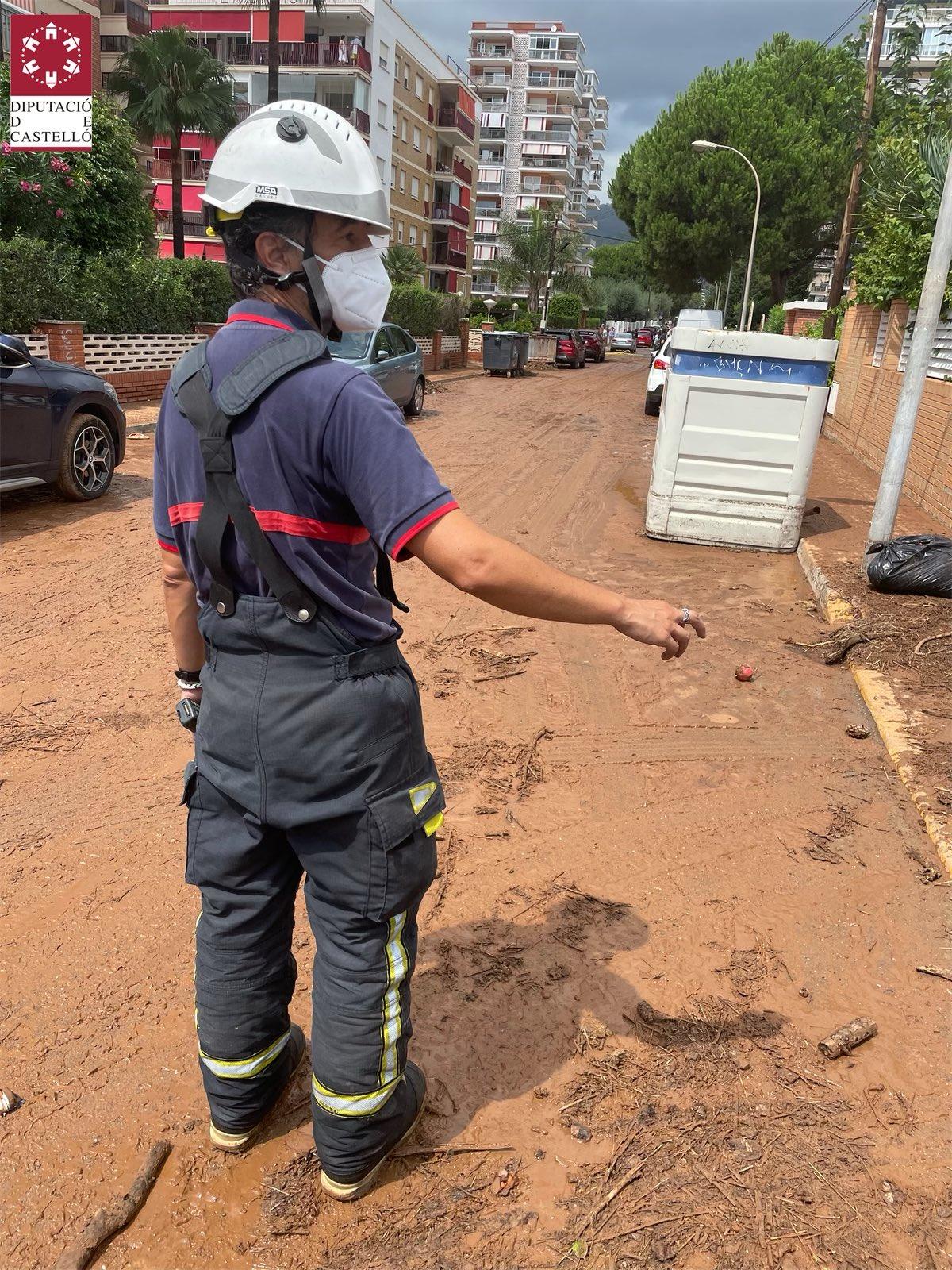 Benicàssim en nivel 1 de emergencia por inundación