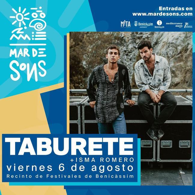 Taburete presenta su último disco en Mar de Sons Benicàssim