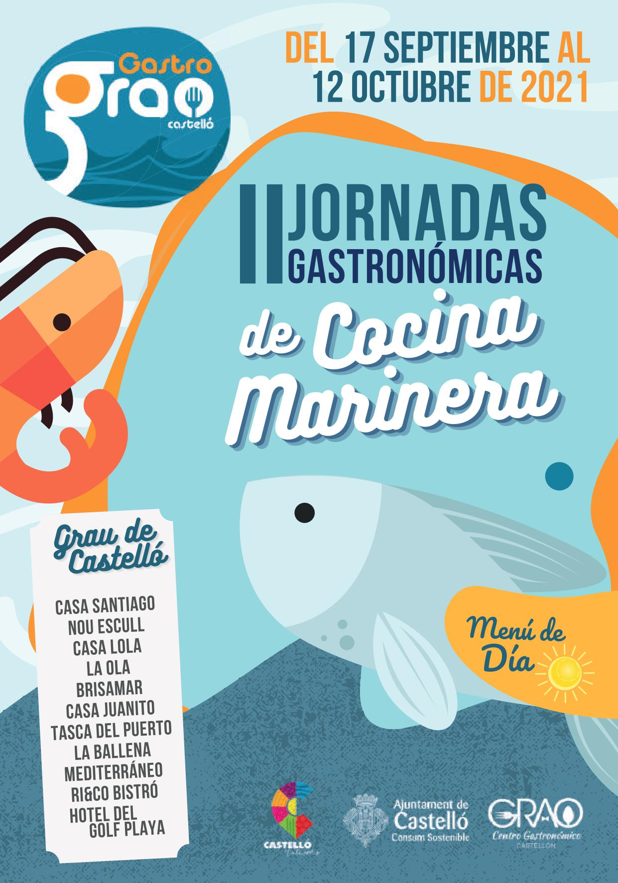 II JORNADA GASTRONÓMICA DE COCINA MARINERA