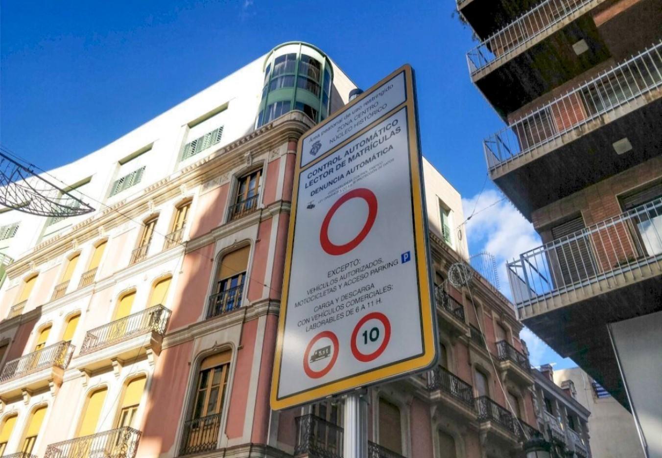 Vuelven las cámaras a los accesos al centro de Castelló